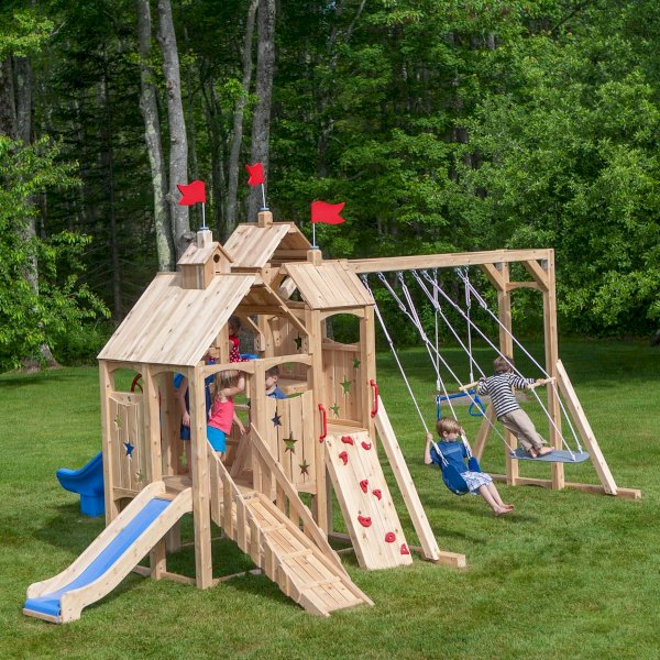 Swing Sets And Playsets Cedarworks Playsets