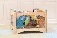 Thumbnail 1 of Playroom Clear Toy Box